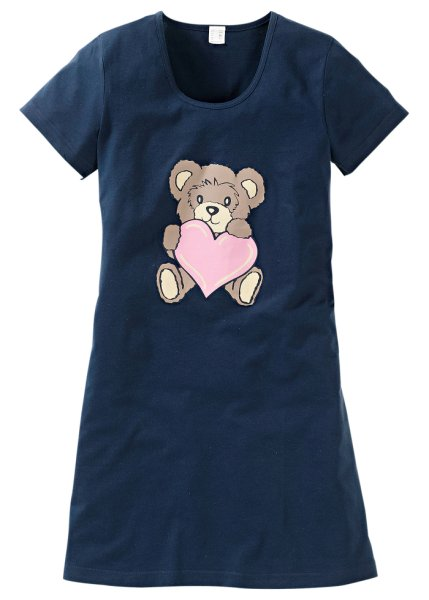 Bear print nightie