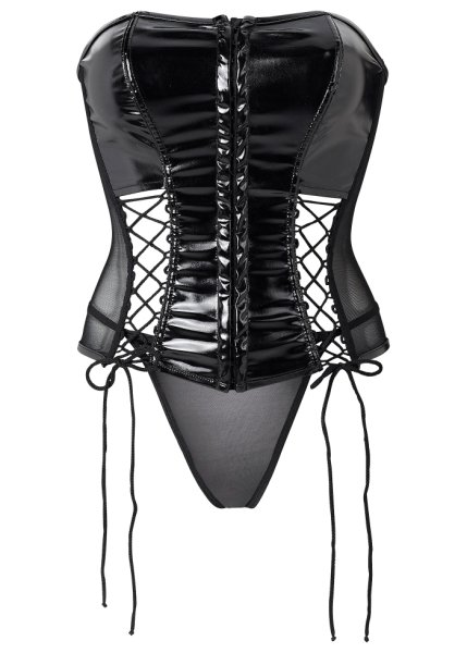 Patent basque + thong