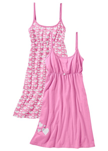 Pack of 2 cami nighties