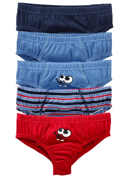 Pack of 5 boys briefs