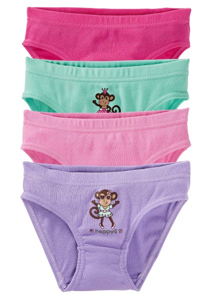 girls brief (pack of 4)