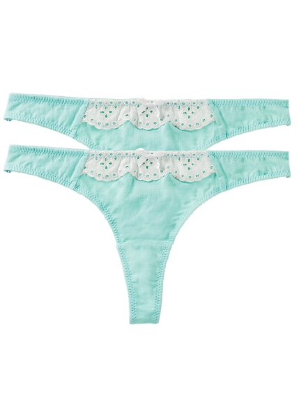 Pack of 2 thongs